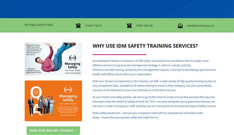 IDM Training